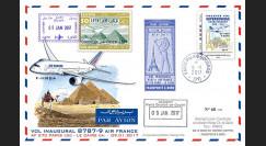 CO-RET75T2 Maxi-FFC '1er vol Air France Paris-Le Caire / Concorde 1976 / B787-9 2017'