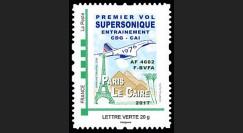 CO-RET75T1N TPP 'Concorde Air France 1976 / 1er vol entraînement Paris-Le Caire' 2017