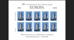 PE518-EU : 2006 - Feuillet 50e anniversaire du TP EUROPA 1956-2006