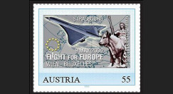 """PE516N : 2006 - TPP AUTRICHE """"Concorde - Flight for Europe - Vol pour l'Europe"""""""