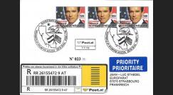AS04R : Pli RECOMMANDÉ Autriche 'Gouverneur Arnold SCHWARZENEGGER USA' 2004