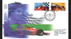 CDN97-VIL : FDC Canada 1997 'Hommage pilote de Formule 1 canadien Gilles Villeneuve'