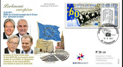 PE708 FDC session PE '60 ans Traité de Rome / Juncker