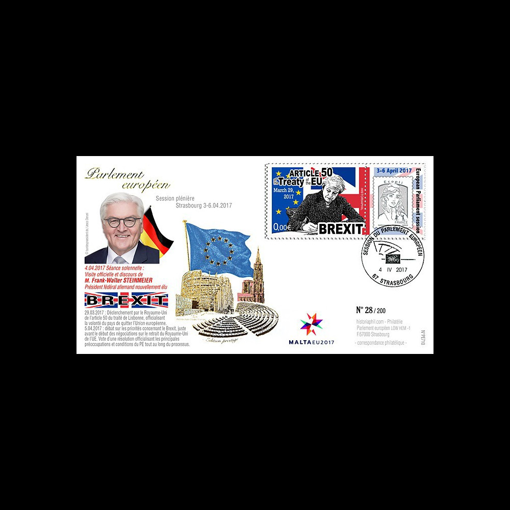 "PE710 : FDC Session PE ""BREXIT Article 50 / M. STEINMEIER"