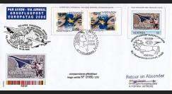 PE516 : 2006 Pli aérophilatélique Vol pour l'Europe Strasbourg-Wien