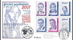 """PRES17-3 : FDC """"France Présidentielle 2017 1er Tour / Macron"""