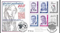 """PRES17-4 : FDC """"France Présidentielle 2017 1er Tour / Macron"""