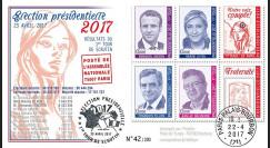 """PRES17-5 : FDC """"France Présidentielle 2017 1er Tour / Macron"""