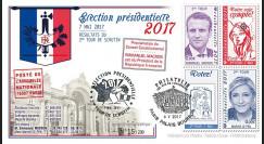 """PRES17-7 : FDC """"France Présidentielle 2017 / MACRON & LE PEN / Résultats du 2nd TOUR"""""""