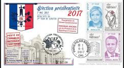 """PRES17-8 : FDC """"France Présidentielle 2017 / MACRON & LE PEN / Résultats du 2nd TOUR"""""""