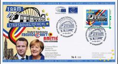 "PE711T1 FDC Portes ouvertes PE ""TRAM Strasbourg-Kehl / MACRON & MERKEL"" 14-05-2017"