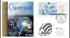 "VS14L FDC KOUROU ""Fusée SOYOUZ Vol n°14 / Sentinel 1B / Fly Your Satellite"" 25-04-2016"