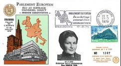"""SC1 : FDC PE """"Election Simone VEIL 1er président du PE élu au suffrage universel"""" 1979"""