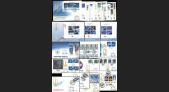 """EUROPA91 : collection complète 49 FDC 1er Jour """"EUROPA CEPT 1991 L'Europe et l'espace"""""""