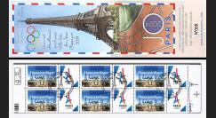 """JO2024-COB FRANCE Carnet Collector 1er Jour JO Paris 2024 surchargé """"13/09/2017 Lima"""""""