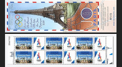 "JO2024-CN FRANCE Carnet Collector NEUF JO Paris 2024 surchargé ""13/09/2017 Lima"""