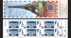 "JO2024-CN FRANCE Carnet Collector NEUF JO Paris 2024 surchargé ""13/09/2017 Lima"""