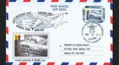 """A380-16 : 2006 - Pli CANADA """"Airbus A380 Essais Grand Froid"""""""