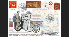 """NIEM17-1 : 2017 Maxi-FDC France-Russie """"75 ans Régiment NORMANDIE-NIEMEN / de Gaulle"""""""