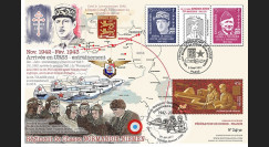 "NIEM17-3 : 2017 Maxi-FDC France-Russie ""Rgt Normandie-Niemen / de Gaulle / Pouliquen"""