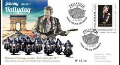 "JOHNNY17-T1 : 9.12.2017 PLI ""Cérémonie hommage à Johnny Hallyday (1943-2017) Paris"""