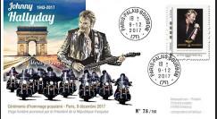 "JOHNNY17-T2 : 9.12.2017 PLI ""Cérémonie hommage à Johnny Hallyday (1943-2017) Paris"""
