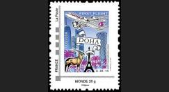 """A380-285N : France TPP Monde """"Vol inaugural A380 Paris-Doha (Qatar) 5.11.2014"""""""