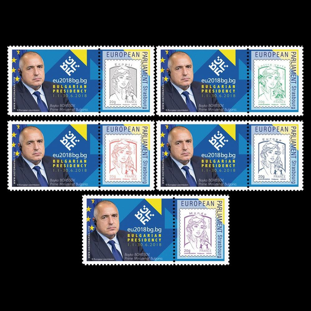 "PE721-PT : 5 Marianne ""PE / Bulgarie Présidence UE / Boïko BORISSOV"