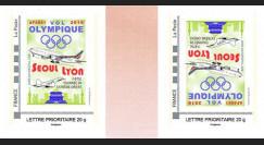 "JO2018-TPP1VN : 2018 FRANCE 2 TPP Variété ""Vol olympique B777 Air France Séoul-Lyon"""
