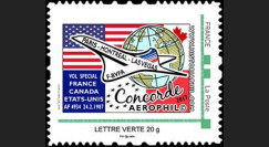 "CO-RET79N : FRANCE TPP ""1987-2017 40 ans 1er vol Concorde Paris-Montréal-Las Vegas"""