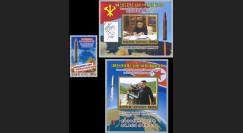 """DPRK17-HW1/3N Corée du Nord """"Kim Jong-un / lancement de missiles balistiques"""" 2017"""