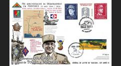 DEB14-33 : 2015 Maxi-FDC 70 ans Débarquement Provence - Opération Dragoon - de Lattre