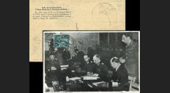 """W2FR73-20 FRANCE Carte """"Signature acte reddition Allemagne 1945 - généraux allemands"""""""