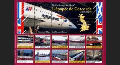 CO-E10 : 2006 - Feuillet L'épopée Concorde
