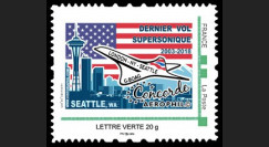 "CO-RET81N : FRANCE TPP ""2003-2018 Dernier vol Concorde BA G-BOAG Londres-NY-Seattle"""