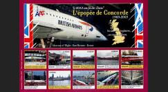 CO-E10ND : 2006 - Feuillet L'épopée Concorde