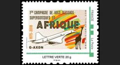 """CO-RET84N : FRANCE TPP """"1975-2018 1ère campagne de vols d'essais Concorde en Afrique"""""""