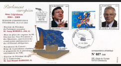 "PE489 : 2004 - FDC PE ""Election MM. BORREL & BARROSO"