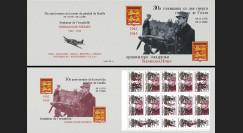"""DG0016C : 2000 Carnet privé ex-URSS """"Normandie-Niemen / 30 ans mort de Gaulle"""" - 5k"""