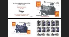 """DG0018C : 2000 Carnet privé ex-URSS """"Normandie-Niemen / 30 ans mort de Gaulle"""" - 5k"""