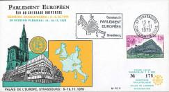 PE3 : 1979 - FDC Session budgétaire du Parlement européen 5-7 Nov.