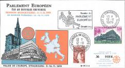 PE3A : 1979 - FDC Session plénière du Parlement européen 12-16 Nov.
