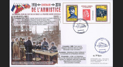 CENT18-6: 2018FR- Maxi-FDC...