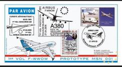 A380-11A : 2005 - Pli 1er vol prototype MSN 001 - Isle de Man