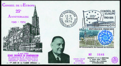 CE26 : 1974 - FDC 25 Years...