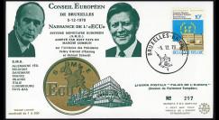 ECU1 : 1978 - FDC Naissance...