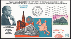 """EPE12-T1: 1979 - FDC """"1er..."""