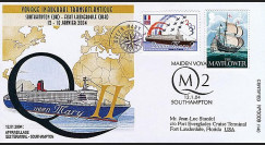 QM2-3 type1 : 2004 - Voyage inaugural transatlantique du Queen Mary 2
