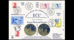 PE198ECU : 1988/89 - FDC...