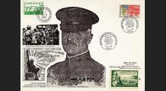 PERSH87-2 : 1987 - Général Pershing - débarquement en France